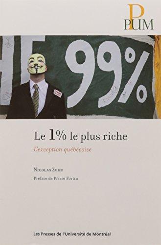 Le 1% le plus riche: l'exception québécoise