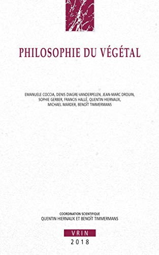 Philosophie du végétal